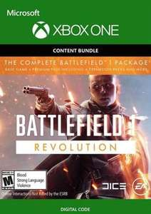Battlefield 1 Revolution Inc. Battlefield 1943 Xbox One includes the base game and expansion packs £1.49 @ CDKeys