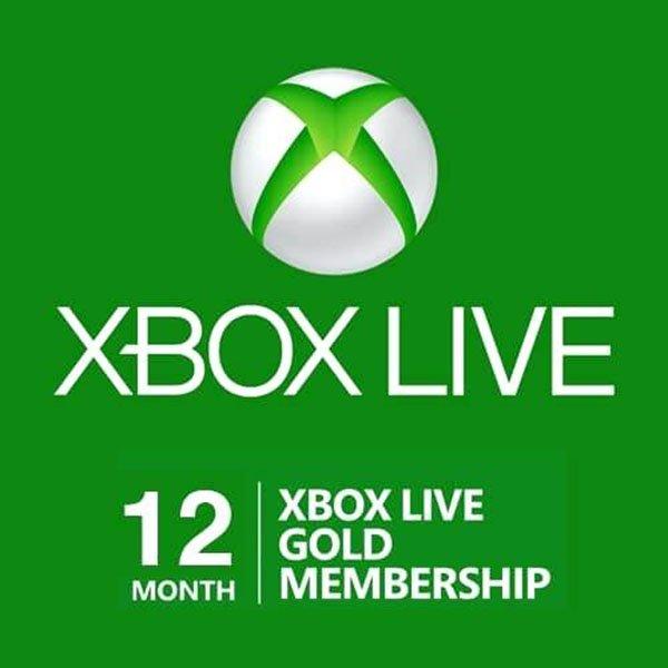 Xbox LIVE 12 Month Gold Code (Brazil VPN) £30.84 @ cjs-cdkeys