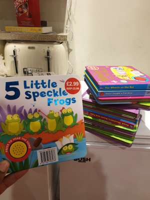 Igloo Books - Music Sound Books 29p instore @ Aldi Selsdon