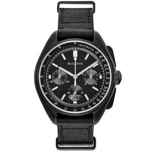 Bulova 98A186 Special Edition Lunar Pilot Chronograph Wristwatch £299 @ HS Johnson
