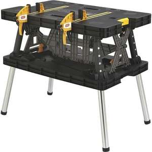Keter Pro series folding work bench £47.98 @ Costco Coventry