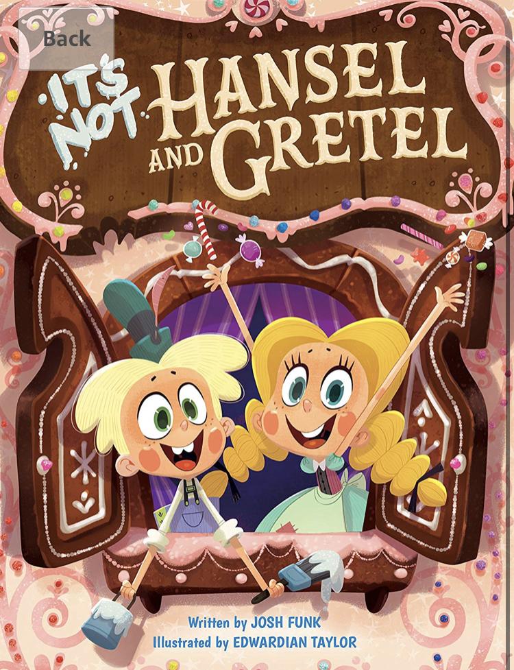 It's Not Hansel and Gretel Hardcover Book - £1.86 (+£2.99 Non Prime) @ Amazon
