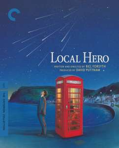 Local Hero (The Criterion Collection) [Blu-ray] from Rarewaves USA @ Amazon UK (£22.46 + £1.26 delivery) *REGION A (UK is Region B) LOCKED*