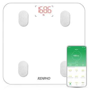 RENPHO Digital Smart Bathroom Scale £18.39 (+£4.49 Non Prime) Sold by RENPHO LIMITED and Fulfilled by Amazon
