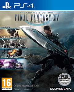 Final Fantasy XIV: The Complete Edition PS4 £18.68 @ Amazon Dispatched from and sold by Game Trade UK