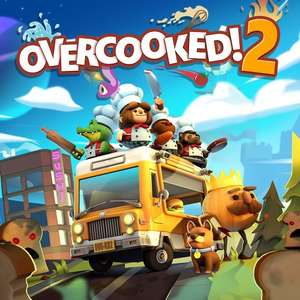 Overcooked 2 for Switch now £11.99 at Nintendo Store