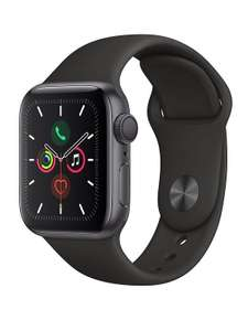 Apple Watch Series 5 (GPS), 40mm Space Grey Aluminium Case With Black Sport Band £379 (Less With New User Code) @ Very
