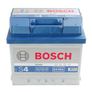 Bosch S4 063 Car Battery (S4001 12V 44AH) + 4 Years Warranty - £39.17 Delivered @ carpartsbargains (Euro Car Parts) / eBay