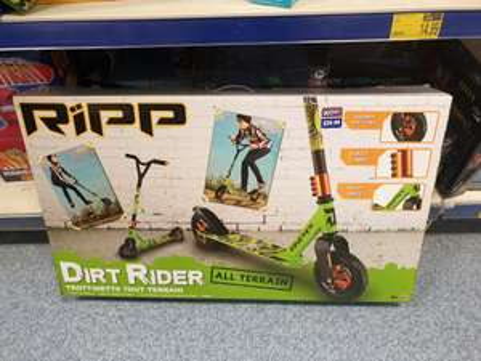 RIPP Dirt Rider Terrain Scooter Stunt Scooter £39.99 instore @ B&M Lakeside