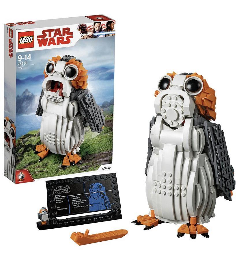 LEGO Star Wars Porg Toy Building Set - 75230 - £43 @ Argos - Free Collection