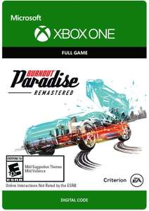 Burnout Paradise Remastered Xbox One - £5.00 Digital Download from Amazon