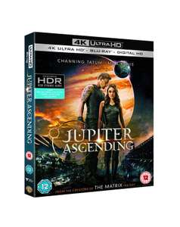 Jupiter Ascending (4K Ultra HD Blu-ray) [Includes Digital Download] [2016] £9.99 @ Amazon