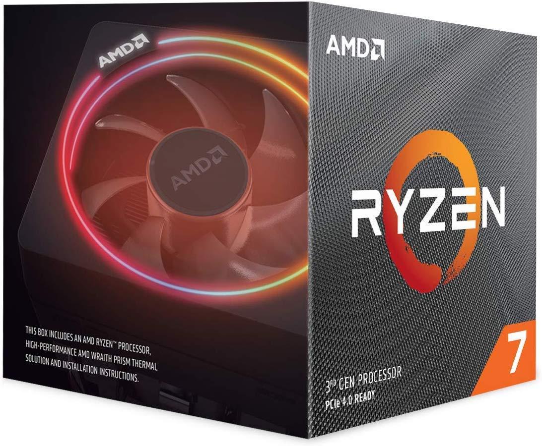 AMD Ryzen 7 3700X Gen3 8 Core AM4 CPU/Processor with Wraith Prism RGB Cooler - £278.99 @ Amazon