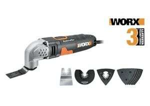 WORX WX667 Sonicrafter Oscillating Multi-Tool 230W £29.99 at Worx/ebay
