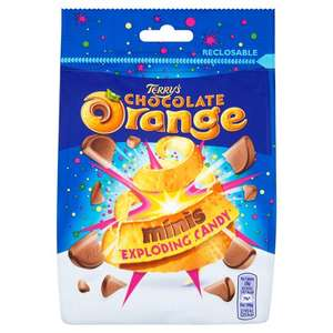 Terrys Chocolate Orange Mini Exploding Candy 75p @ Morrisons Instore