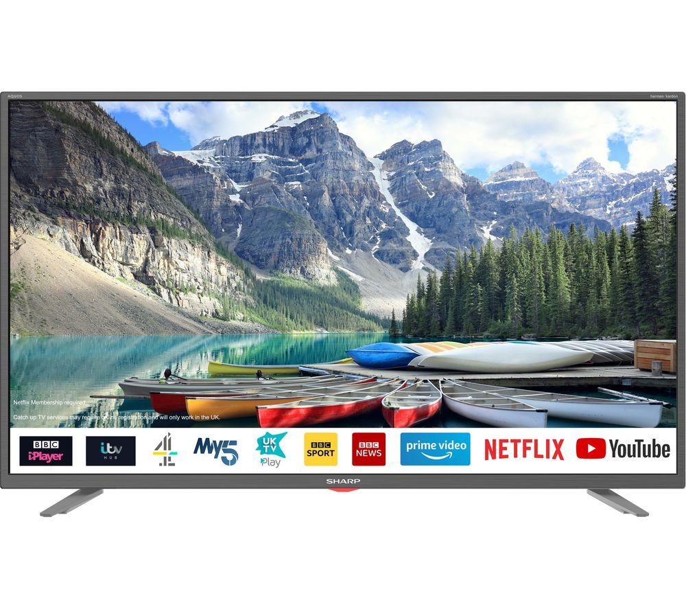 Sharp 40 inch smart TV - £199 @ currys