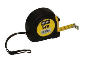 Rolson 5 Metre Tape Measure - £1.27 with code + Free Click & Collect @ Halfords