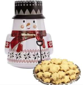 Walkers 200g Santa or Snowman Tin - £3 Each Instore @ Clintons