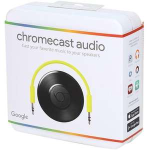 Google Chromecast Audio available/in stock!! and reduced at Mymemory - £27.99