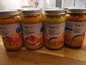 Lupilu organic baby food. 4 for £1 instore at LIDL