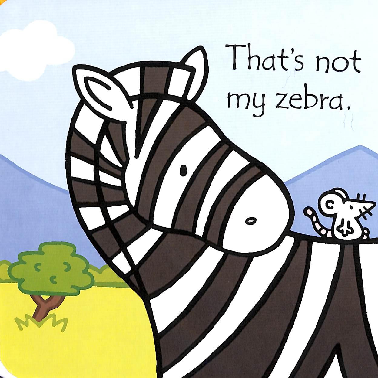 That's not my zebra board book £3.49 Amazon Prime (£2.49 non Prime)