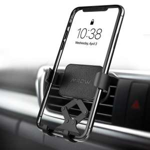 Mpow Gravity Auto-Clamping Car Mount Sold by SJH EU LTD and Fulfilled by Amazon £6.49 Prime (£1.99 non Prime)