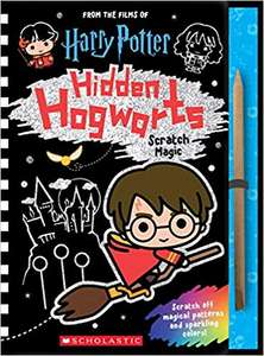 Hidden Hogwarts: Scratch Magic (Harry Potter) £4.00 @ Amazon Prime (£1.99 non Prime)