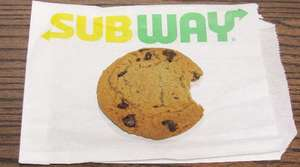 5 Cookies for £1 @ Subway