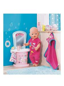 Baby Born Wash Basin Water Fun at Very for £10.99 (C&C)