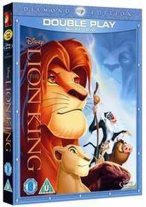 Disney The Lion King blu ray double play for £5.89 (new) delivered @ Music Magpie £5.89
