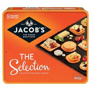Jacobs selection 900g big tub at Tesco for £3.50 instore