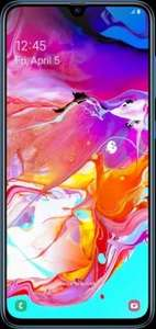24GB On EE - Samsung A70 + £60 Auto Cashback - £23pm (£29 Before Cashback) Total £492 (£552/£696) @ Mobiles.co.uk