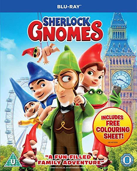 Sherlock Gnomes (Blu-ray) [2018] [Region Free] £3.49 at Amazon Prime (£1.99 non Prime)