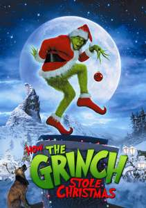 Dr. Seuss' How The Grinch Stole Christmas HD Movie to own £2.99 at Amazon Prime Video