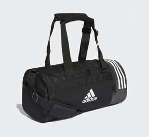 Adidas convertible 3 stripes duffle bag small now £16.77 with code free c&c or £3.99 delivery @ adidas