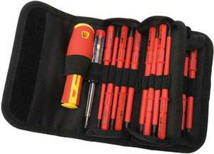 Draper 5776 Interchangeable Insulated Screwdrivers (18 Pieces) 13.99