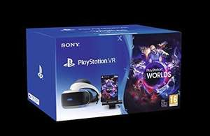 Playstation 4 - PS VR + Camera + VR Worlds Game (Voucher) - Physical Bundle £178.64 @ Amazon Italy