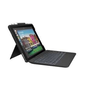 Logitech iPad Pro/iPad Air 3 Keyboard Case (Slim Combo with Detachable, Backlit Wireless Keyboard and Smart Connector) at Amazon £55.18
