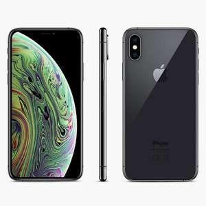"""Apple iPhone XS, iOS, 5.8"""", 4G LTE, SIM Free, 64GB, Space All Colours £629 @ John Lewis & Partners"""