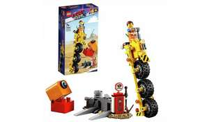 LEGO Movie 2 Emmets Thricycle £5.20 at Argos Less than half price