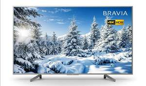 Sony BRAVIA KD65XG70 65-inch LED 4K HDR Ultra HD Smart TV - Silver £694 @ Amazon