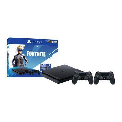 Sony PlayStation 4 500GB + Fortnite & Extra DualShock4 Wirelss Controller + 2000 V Bucks £199.99 @ Laptops Direct
