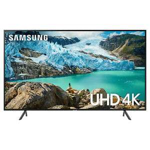 "Samsung UE50RU7100 50"" Smart 4K Ultra HD TV with HDR10+, Apple TV & Slim Design - £345 @ eBay / hughesdirect"