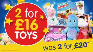 2 for £16 Toys Offer @ B&M Stores