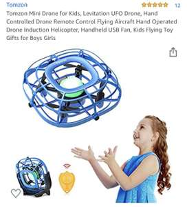 Tomzon Mini Drone for Kids, Levitation UFO Drone £11.19 Prime / £15.68 Non Prime Sold by Botasy® (VAT Registered) and Fulfilled by Amazon