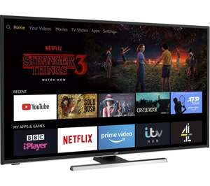 """JVC LT-55CF890 Fire TV Edition 55"""" Smart 4K Ultra HD HDR LED TV with Amazon Alexa - £349 delivered @ Currys PC World"""