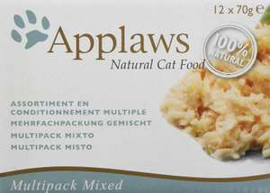 Applaws Cat Tin Multipack Supreme Selection, 70 g,(Pack of 4 x 12 ) £17.20 Prime / £21.69 Non Prime at Amazon