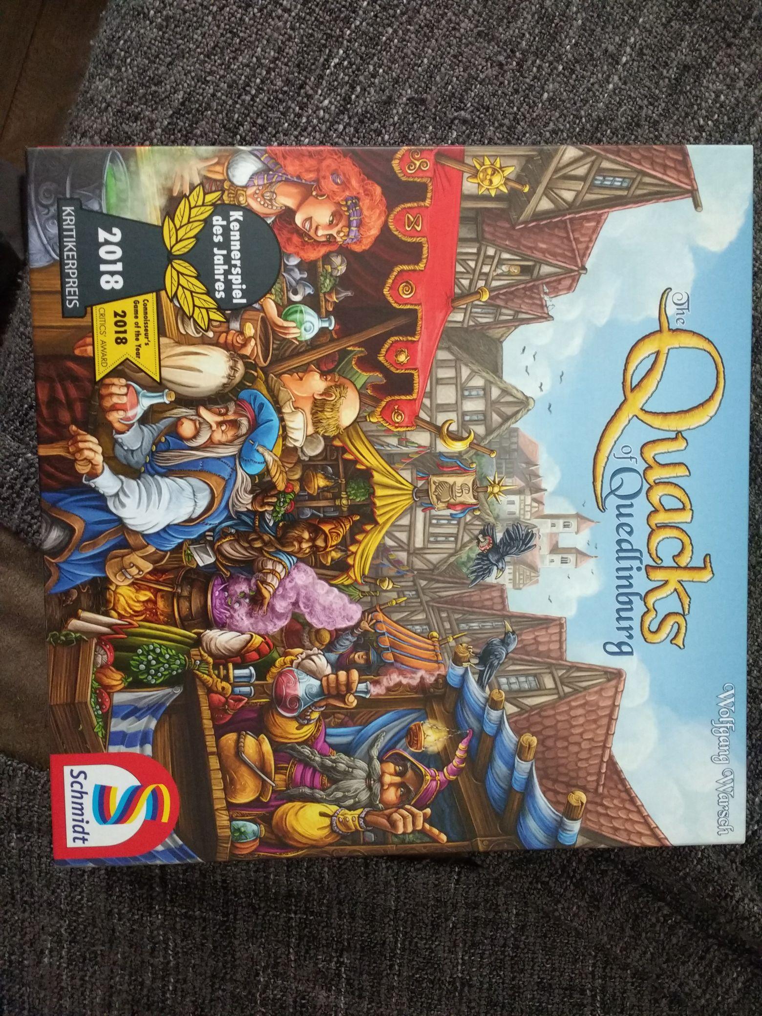 Quacks of Quedlinburg £25.40 at board-game (zatu games)