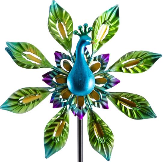 Smart Garden Peacock Wind Spinner - £9.69 + Free Click & Collect @ Robert Dyas
