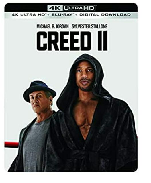 Creed II - Steelbook 4K Ultra HD + Blu-ray + Digital [2019] £13.41 at Amazon Prime / £16.40 Non Prime